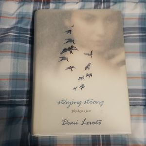 Demi Lovato staying strong hardback book daily